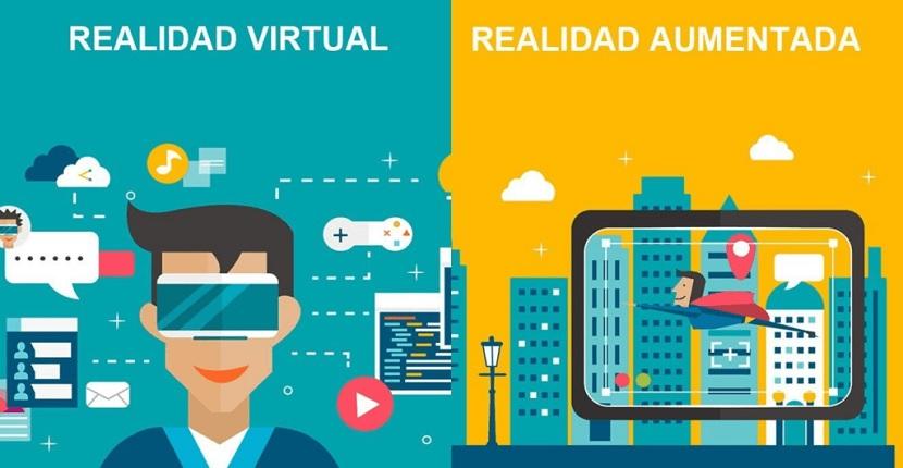Realidad aumentada Vs Realidad virtual